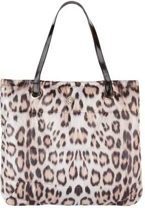 Roberto Cavalli Padded Leopard Print Bag