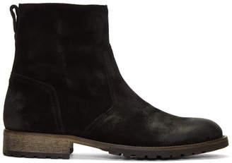Belstaff Black Attwell Boots