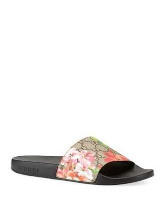 f931bdf9ca6 Gucci Floral Print Women s Sandals - ShopStyle