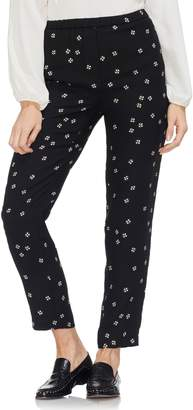 Vince Camuto Re-Set Ditsy Slim Leg Pants