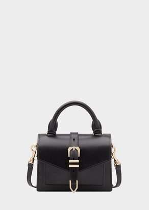 Versace Mini Top Handle Iconic Buckle Bag