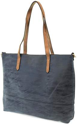 Joy Susan Accessories Brushed 2-In-1 Tote