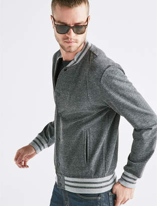 Lucky Brand DOUBLE KNIT BOMBER JACKET
