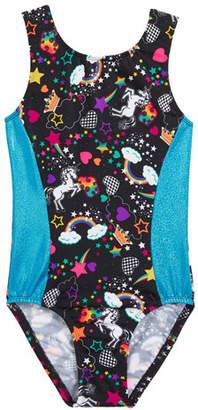 Girl Power Sport Unicorn Forever Leotard, Size 5-12