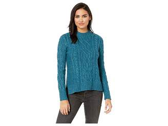 Kensie Lofted Fuzzy Knit Sweater KSDK5923