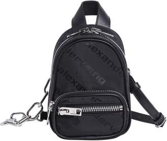 Alexander Wang Mini Attica Logo Backpack