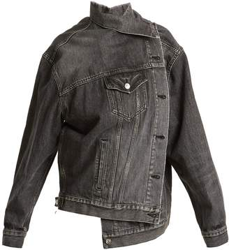 Balenciaga Pulled denim jacket