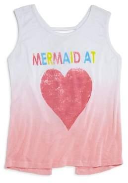Play Six Girls' Ombré Mermaid at Heart Tank - Little Kid