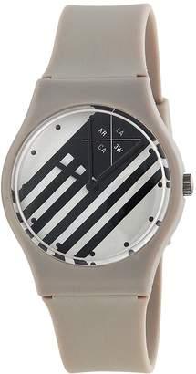 KR3W Freshman Grey Plastic Ladies Watch