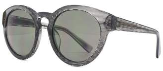 26FCA041 Texture Pattern Sunglasses