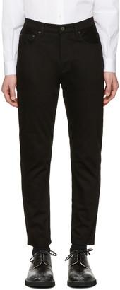 Acne Studios Black Town Jeans $230 thestylecure.com