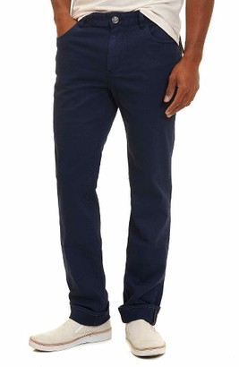 Men's Robert Graham Milo Cotton Twill Five Pocket Pants $168 thestylecure.com