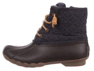 Sperry Wool Duck Boots