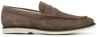 Hogan stacked loafers