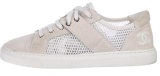 Chanel CC Mesh Sneakers