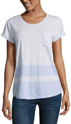 A.N.A Short Sleeve Crew Neck T-Shirt-Womens Petite