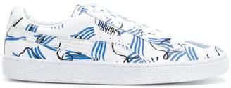Puma X Shantell Martin Basket sneakers