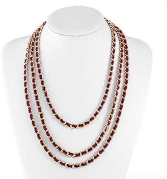 Liz Claiborne 25 Inch Curb Chain Necklace