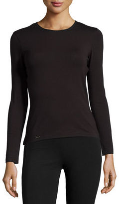 La Perla New Project Long-Sleeve Lounge Top $98 thestylecure.com