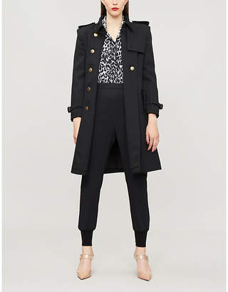 Givenchy Double-breasted wool trench coat