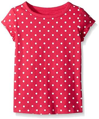 Scout + Ro Little Girls' Short-Sleeve Dot-Print Jersey T-Shirt