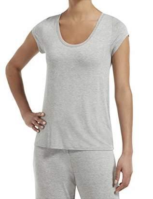Hue Women's Sleepwell with Temptech Short Sleeve Pajama Sleep Top