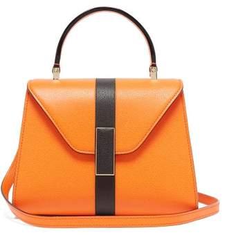 Valextra Iside Mini Grained Leather Bag - Womens - Orange