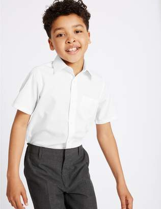 Marks and Spencer PLUS 2 Pack Boys' Ultimate Non-Iron Shirts