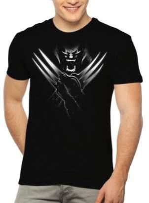 Wolverine Super Heroes X-Men Men's Graphic T-shirt, up to Size 3XL