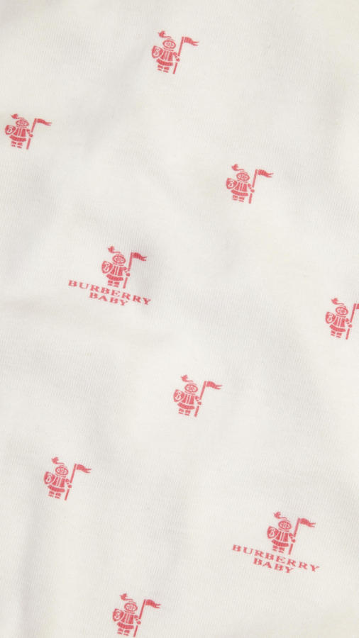 Burberry Cotton Jersey Blanket