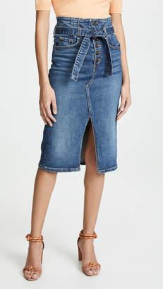 Veronica Beard Jean Denton Corset Skirt