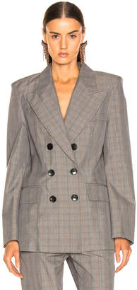 Etoile Isabel Marant Iliane Blazer in Grey | FWRD