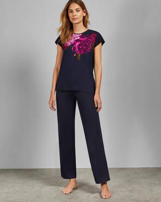 Ted Baker TEZZIA Juxtapose Rose pyjama bottoms