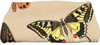 "E By Design Simply Daisy 28"" x 58"" Butterflies Animal Print Bath Towel"