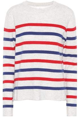 Velvet Jorgie striped cashmere sweater