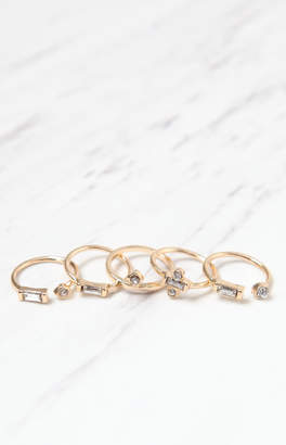 La Hearts Stoned Ring Pack