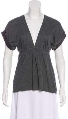 Brunello Cucinelli Knit Short Sleeve Top