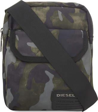 Diesel F-close zipped crossbody