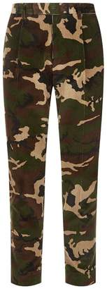 Moncler Camouflage Corduroy Trousers
