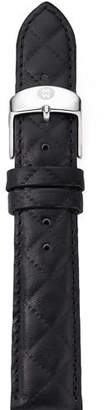 Michele 16mm Quilted Leather Strap