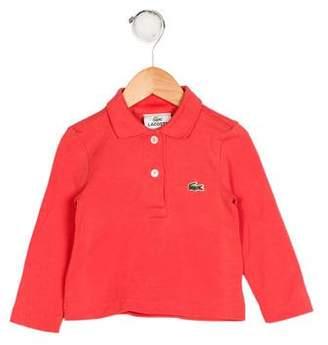 Lacoste Boys' Appliqué-Accented Knit Shirt