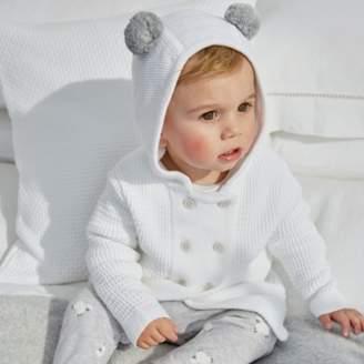 The White Company Pom-Pom Knit Jacket