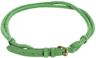 Ralph Lauren Green Suede Belts
