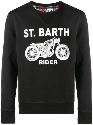 MC2 Saint Barth Rider logo sweatshirt