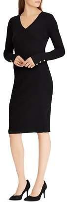 Ralph Lauren V-Neck Sheath Dress