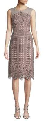 BCBGMAXAZRIA Floral Sheath Dress