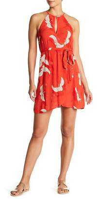 Billabong Aloha Baby Print Wrap Dress