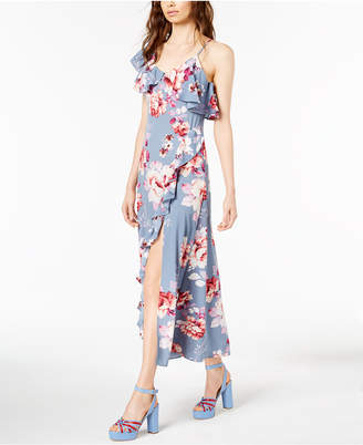 Jill Stuart Floral Asymmetrical Dress, Created for Macy's