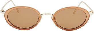 Le Specs Luxe Boom Gold Sunglasses