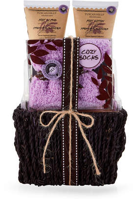 Tuscan Hills 4-Piece French Lavender Foot Care Gift Basket